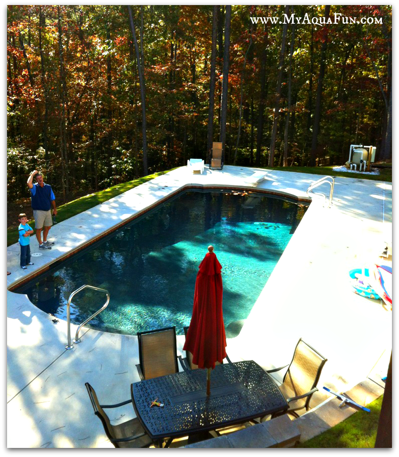swimming pool in North Georgia