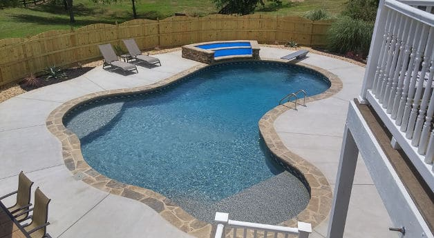 FreeForm Shaped Pool
