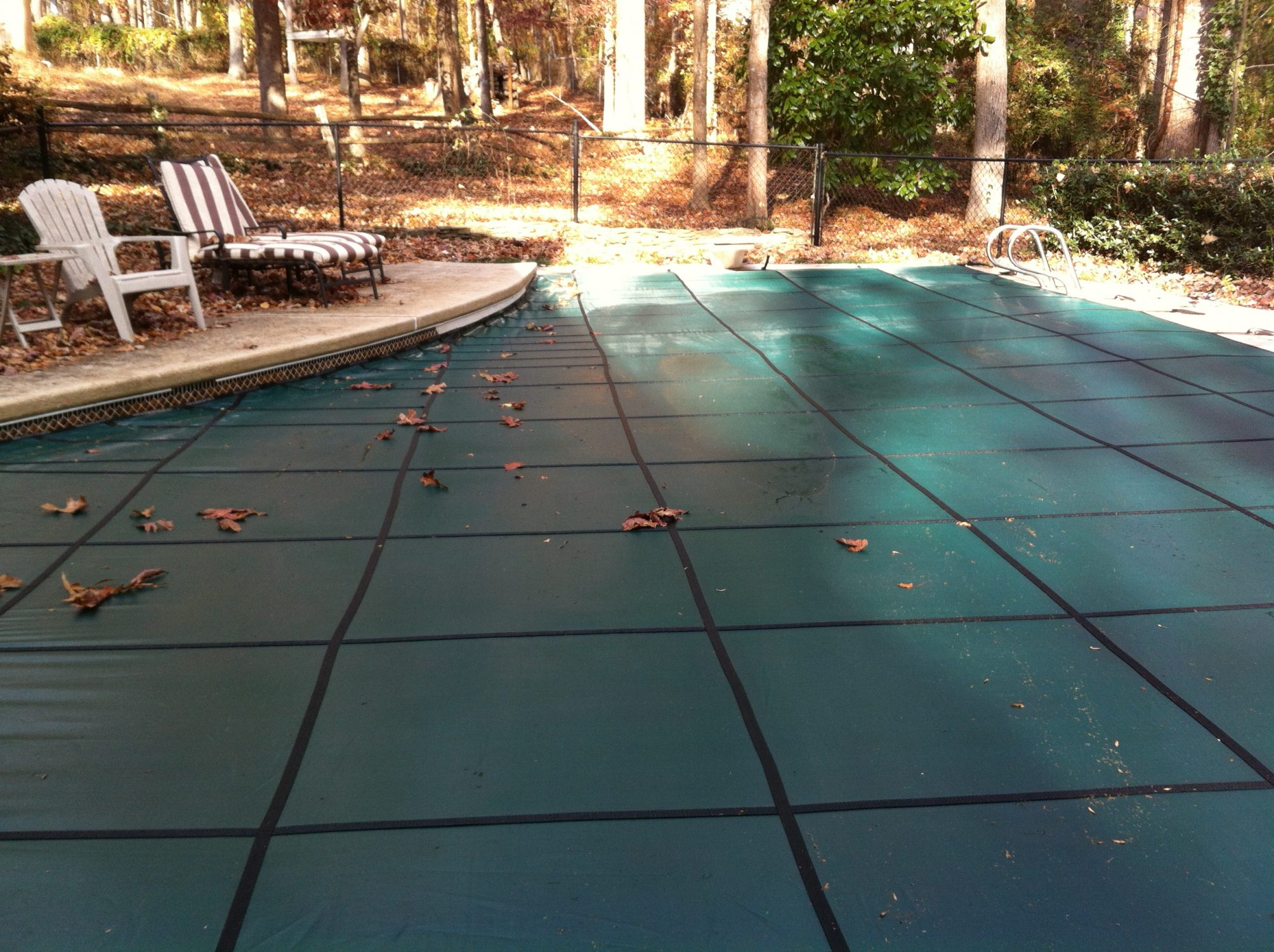 pool cover in North GA.
