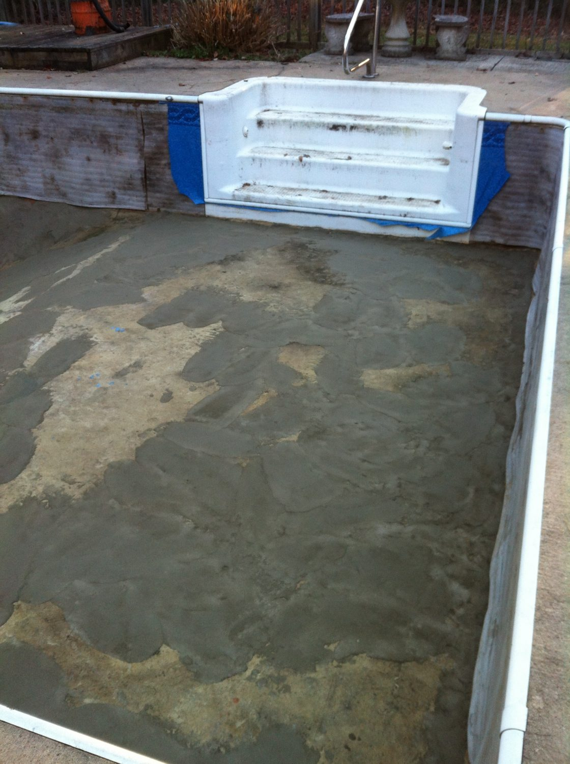 swimming pool without a new liner