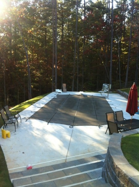 Safety Pool Cover -Winterize