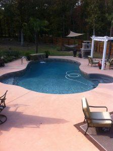 Inground Pool Aqua Fun