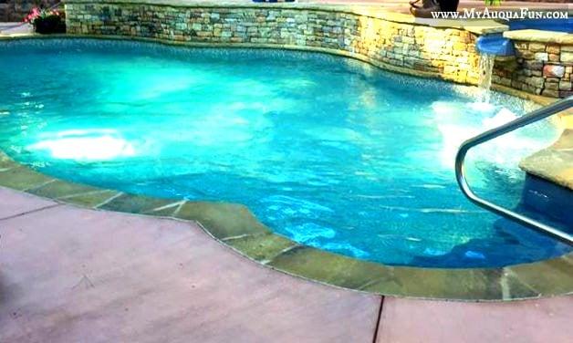 Vinyl pool, pool design