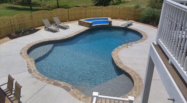 FreeForm Shaped Pool