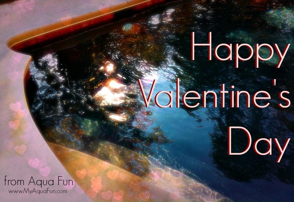Happy Valentines Day - Aqua Fun
