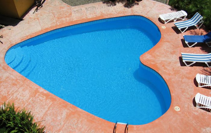 New Pool for Valentine's Day