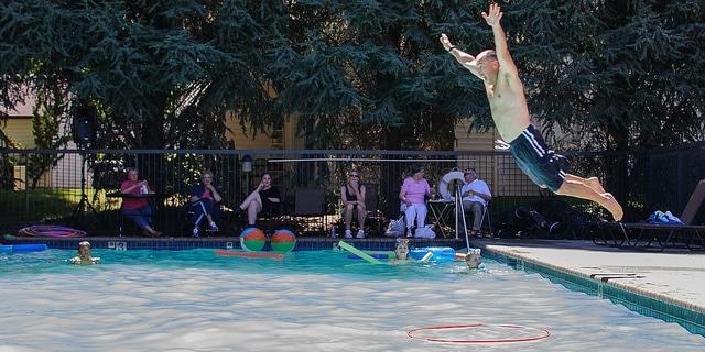 Aqua Fun swimming pool party