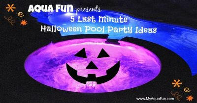 Swimming Pool Party Ideas, 5 Last Minute Halloween Pool Party Ideas