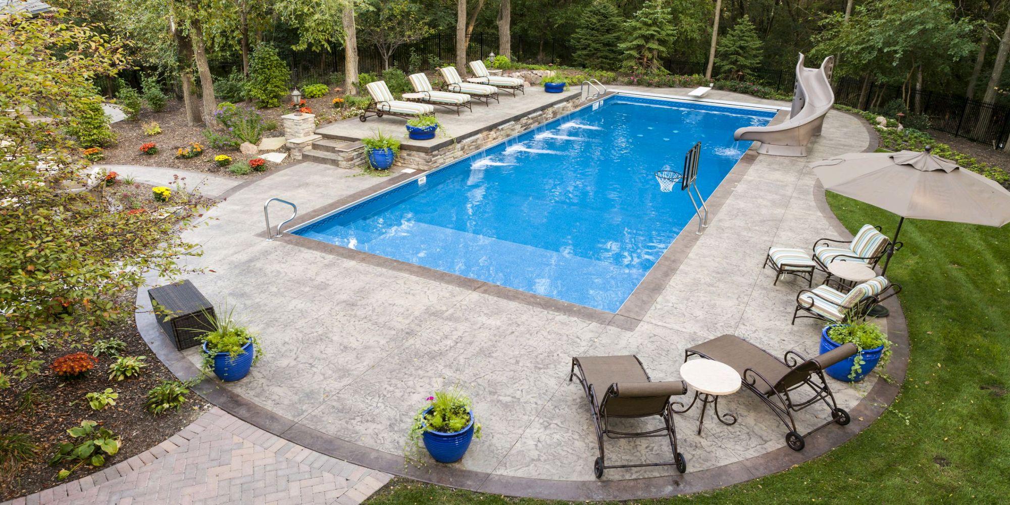Swimming Pool Company Canton Inground Pool Installation